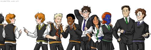 Hogwarts FIrst Class