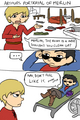 How Arthur sees Merlin funny comic