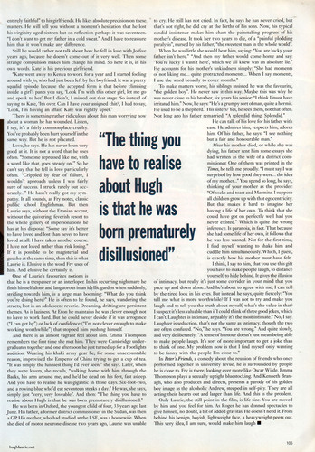 Hugh Laurie GQ Magazine 1992 Interview
