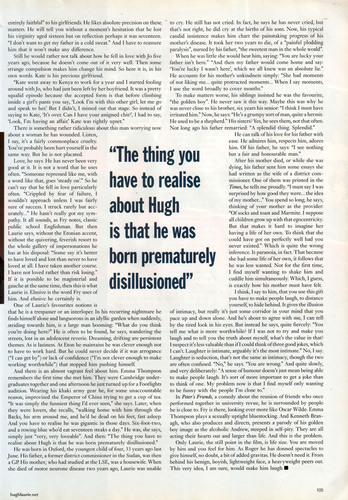 Hugh Laurie GQ Magazine 1992 Interview