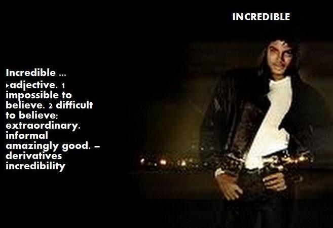 Incredible Michael