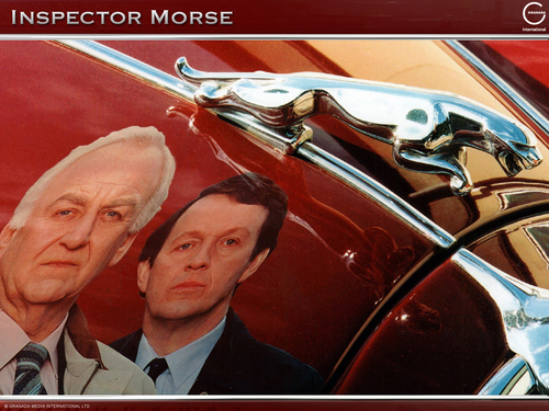 Inspector Morse, Lewis, and the Jag