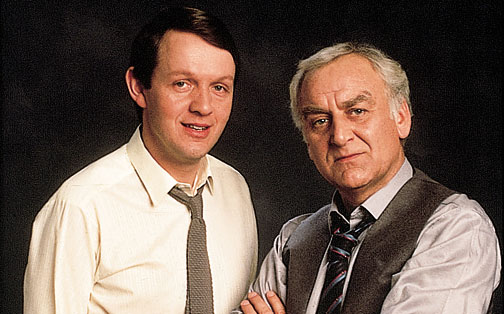 Inspector Morse and his trusty Sergeant