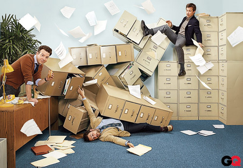 Jason Bateman wallpaper containing a packing box entitled Jason Bateman