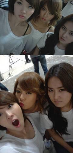 Jiyoon, hyuna & gayoon