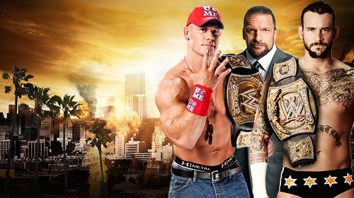 John Cena,Triple H,CM Punk