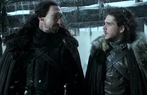 Jon Snow and Benjen Stark