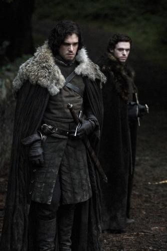 Jon Snow and Robb Stark