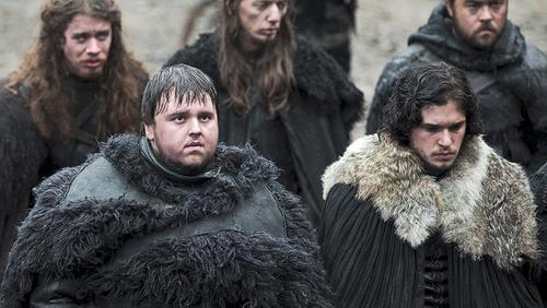Jon Snow and Samwell Tarly