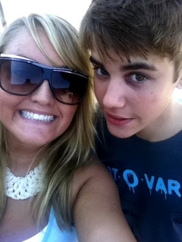Justin and fan