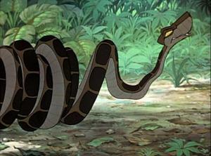 Kaa the pitón, python