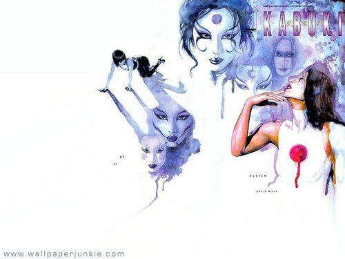Kabuki, দ্বারা David Mack