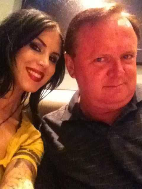 Kat and her Daddy:)♥