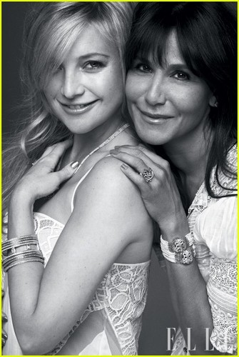 Kate Hudson: Topless for 'Elle' Magazine Feature!