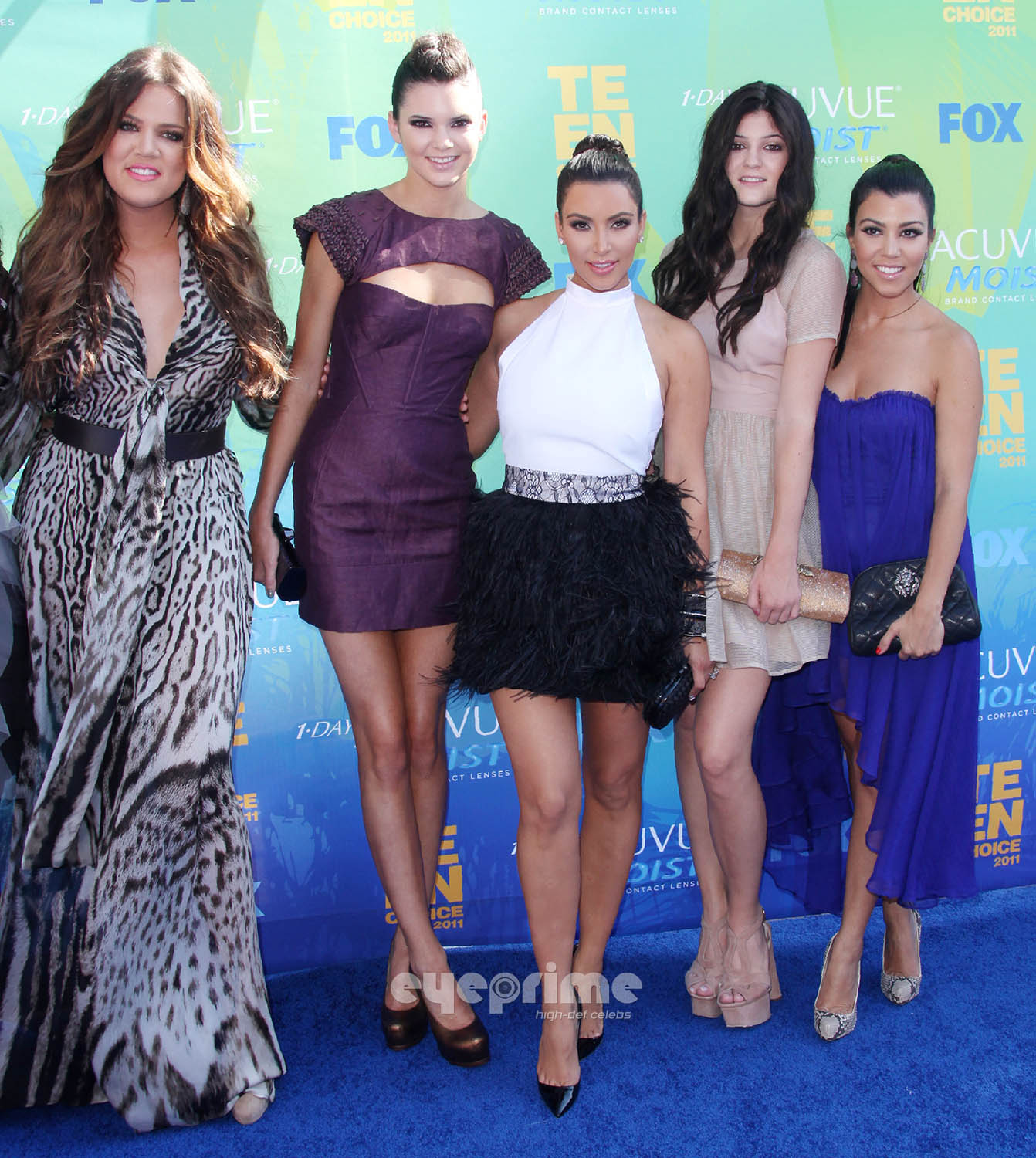 Kendall and Kylie Jenner: 2011 Teen Choice Awards in L.A, Aug 7