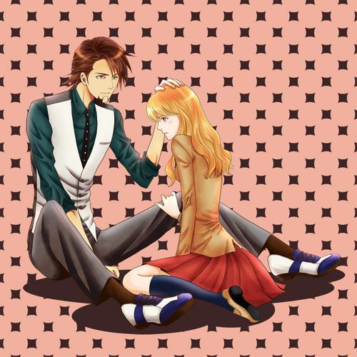 Kotetsu and Karina   Wild Tiger and Blue Rose