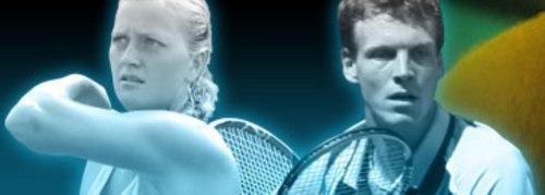 Kvitova and Berdych best