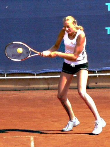 Kvitova was before 5 years very slim
