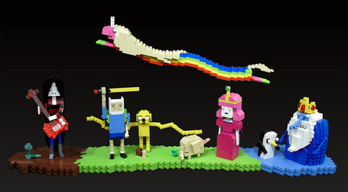 Adventure Time With Finn and Jake wallpaper titled LEGO ADVENTURE TIME!!!!!!!!