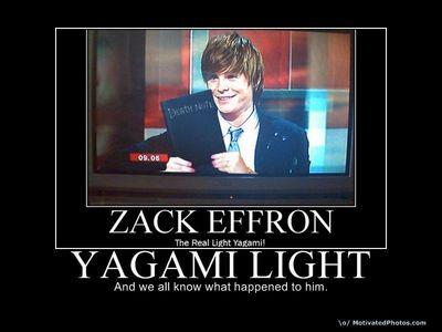 Light Yagami and Zac Efron