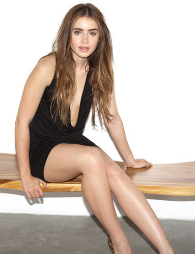 Lily Collins 'Esquire' Photoshoot