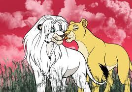 Lion King Simba & Nala
