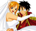 Luffy Chose Her  - luffyxnami photo