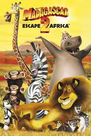 Alex the Lion karatasi la kupamba ukuta containing anime titled Madagascar Poster