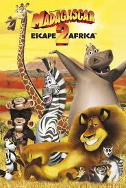 Alex the Lion karatasi la kupamba ukuta with anime entitled Madagascar Poster
