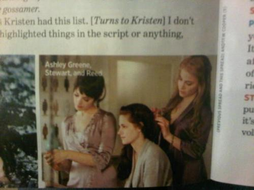 Magazine Scan featuring Ashley, Kristen and Nikki in a new pic from BD!