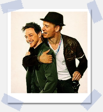 James McAvoy and Michael Fassbender images McFassy wallpaper and background photos