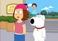 Meg and Brian Griffin