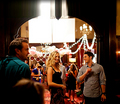 Michael/Candice behind the scenes - 3x01 - tyler-and-caroline photo