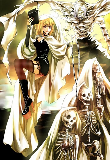 death note misa and rem - photo #23