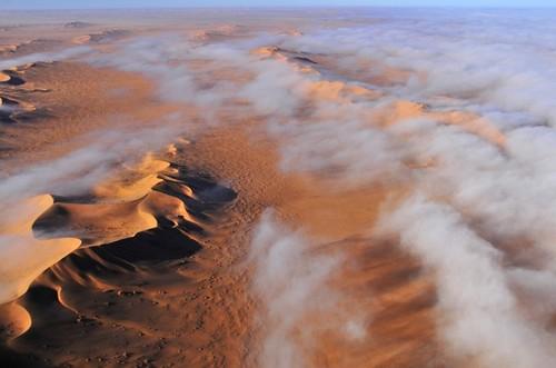 Mist Over Desert