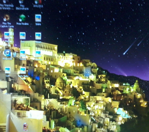 My walpaper but it's greece and EPIC!!!!and pretty.