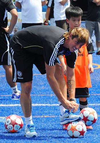Nando Chelsea Fc - Asian Tour 2011