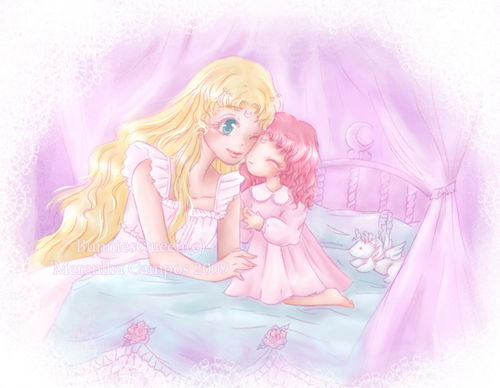 Neo Queen Serenity and Rini
