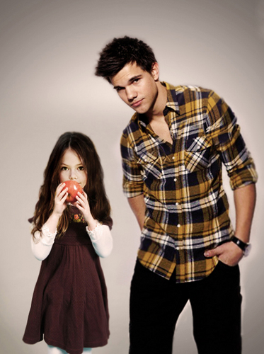 Nessie & Jacob - renesmee-carlie-cullen Photo