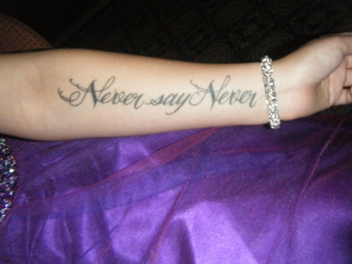 Never Say Never Justin Bieber Photo 24434975 Fanpop