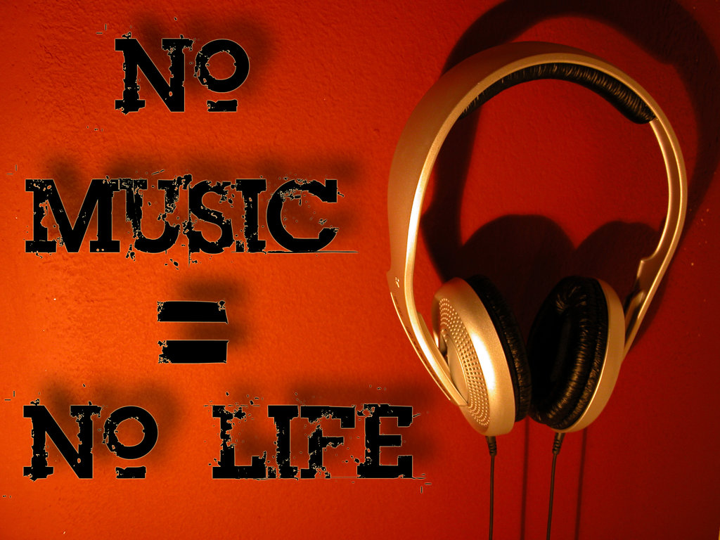 Fantastic Wallpaper Music Red - No-Lyf-Without-Music-no-music-3D-no-life-24455548-1024-768  HD_566476.jpg
