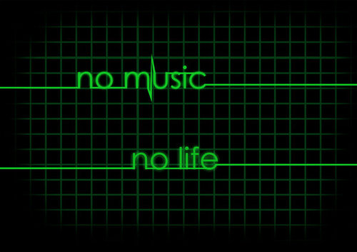 No âm nhạc no Life