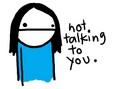 Not talking
