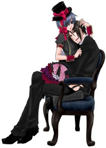 On His Butler's Lap