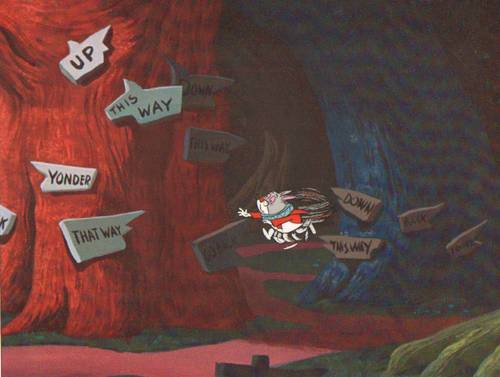Original Alice in Wonderland Production Cel