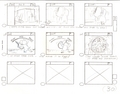 Original Hand Drawn Tom & Jerry Production Storyboard - tom-and-jerry photo