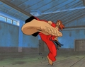 Original Hand Painted Street Fighter Production Cel