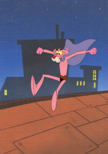 Original 粉, 粉色 豹, 黑豹 Production Cel