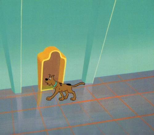 Original Scooby Doo Priduction Cel