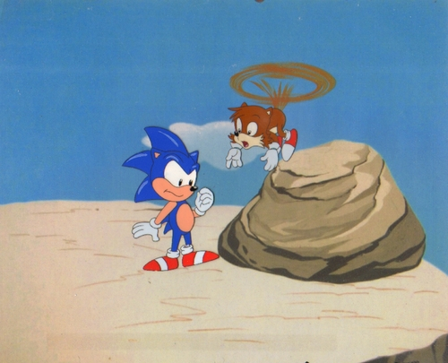 Original Sonic the Hedgehog Production Cel
